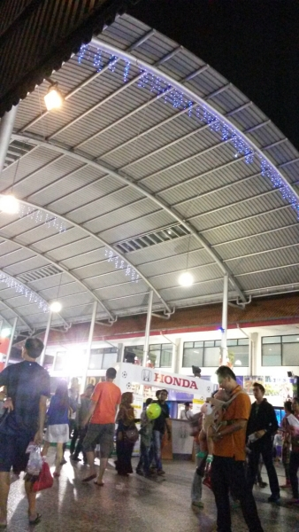 Perbatasan Jakarta Fair dan Gambir Expo..