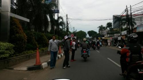 Calo-calo Berjajar Rapi Sepanjang Jalan Ampera..