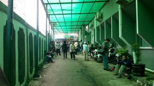 Suasana Lorong Loket Tilang..
