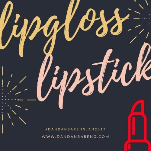 lipstik gratis dandanbareng