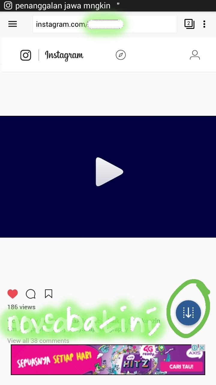 Cara Download Video Instagram dari Private Account | Novsabatini's Blog